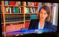 Me Sophia BINET apporte sa contribution au JT de 20h sur TF1 - Reportage Grand Format